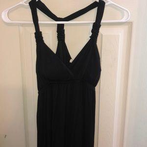 Super soft black maxi dress